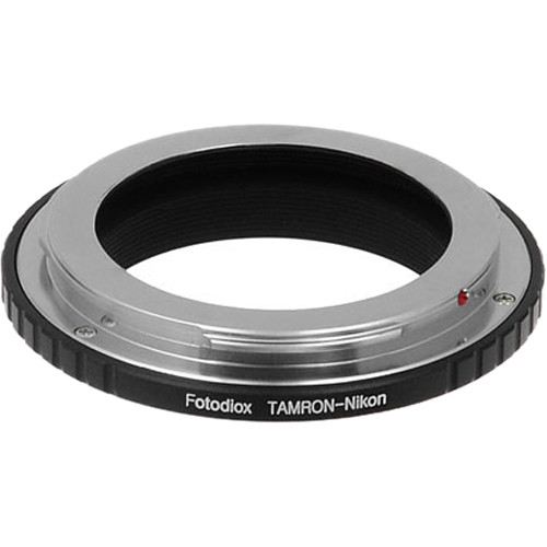 FotodioX Mount Adapter for Tamron Adaptall Lens to Nikon F-Mount Camera
