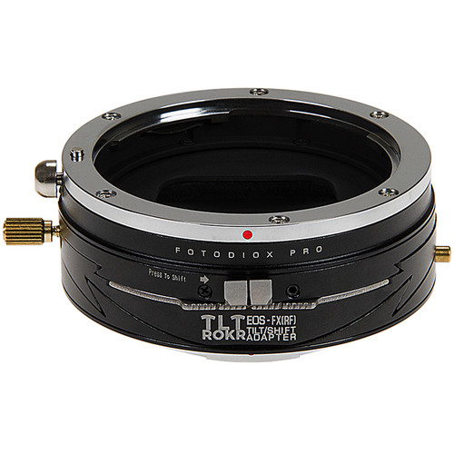 FotodioX Pro TLT ROKR Tilt-Shift Adapter for Canon EF Lens to FUJIFILM X-Mount Camera