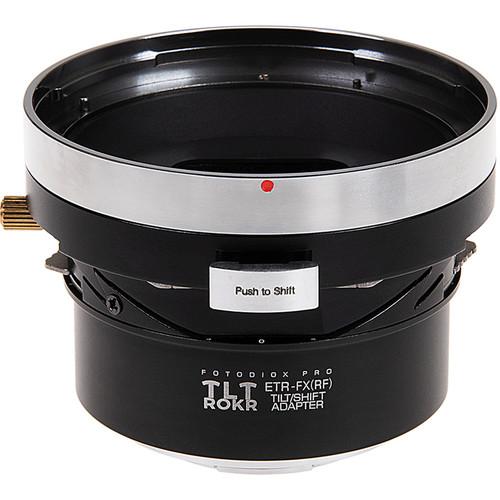FotodioX Pro TLT ROKR Tilt-Shift Adapter for Bronica ETR Lens to FUJIFILM X-Mount Camera
