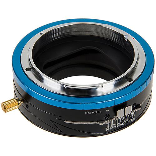 FotodioX Pro TLT ROKR Tilt-Shift Lens Mount Adapter for Canon FD-Mount Lens to Fujifilm X-Mount Camera