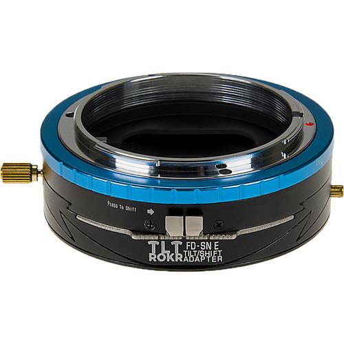 FotodioX Pro TLT ROKR Tilt-Shift Adapter for Canon FD Lens to Sony E Camera