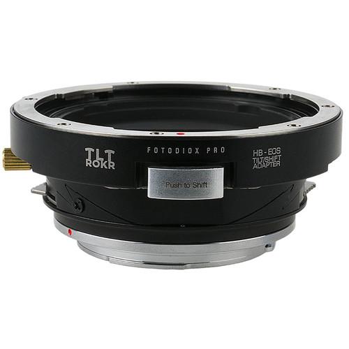 FotodioX Pro TLT ROKR-Tilt/Shift Lens Mount Adapter for Hasselblad V-Mount Slr Lenses to Canon EOS Mount SLR
