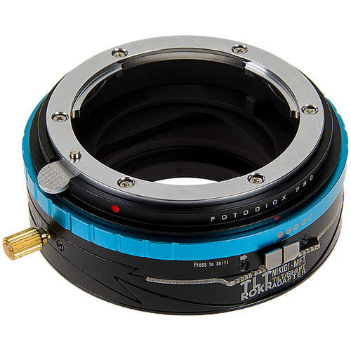 FotodioX Pro TLT ROKR Tilt-Shift Adapter for Nikon F Lens to Micro Four Thirds Camera