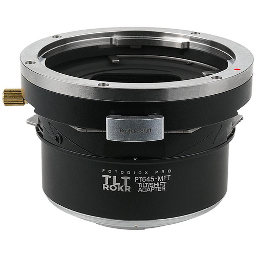 FotodioX Pro TLT ROKR Tilt-Shift Adapter for Pentax 645 Lens to Micro Four Thirds Camera