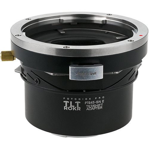 FotodioX Pro TLT ROKR Tilt/Shift Adapter for Pentax 645 Lens to Sony E-Mount Camera