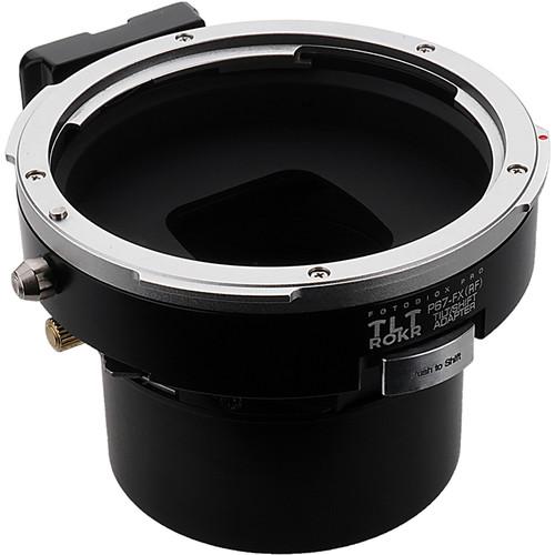FotodioX Pro TLT ROKR Tilt/Shift Adapter for Pentax 67 Lens to Fujifilm X-Mount Camera