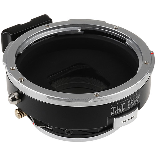 FotodioX Pro TLT ROKR Tilt/Shift Adapter for Pentax 67 Lens to Sony A-Mount Camera