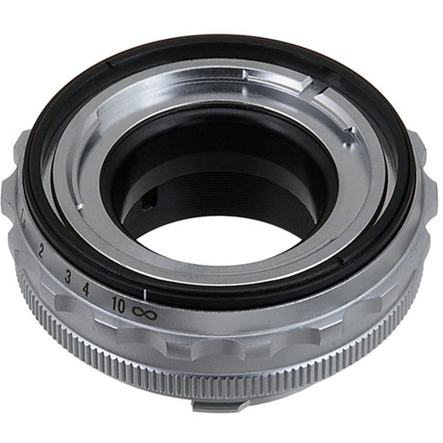 FotodioX Pro Lens Mount Adapter for Voigtländer Nokton 50mm or Ultron 50mm Prominent-Mount Lens to Leica M-Mount Camera