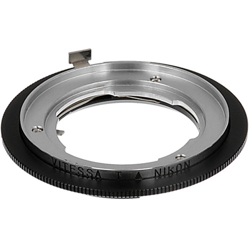 FotodioX Pro Lens Mount Adapter for Vitessa Lens to Nikon F Mount Camera