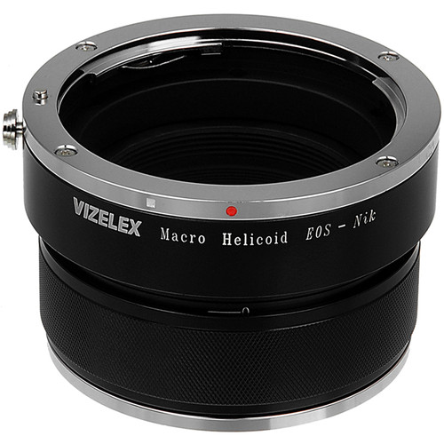 FotodioX Vizelex Canon EOS Lens to Nikon Camera Adapter with Macro