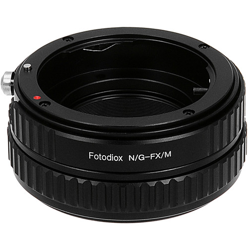 FotodioX Macro Focusing Helicoid (Nikon G Lenses to Fujifilm X Camera Body)