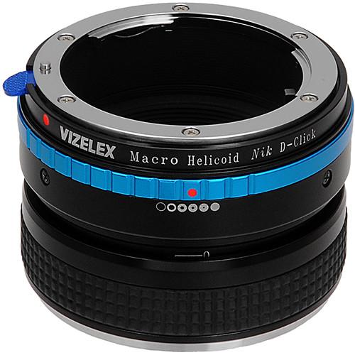 FotodioX Macro Focusing Helicoid (Nikon G & DX Lenses to Nikon DSLR Body)