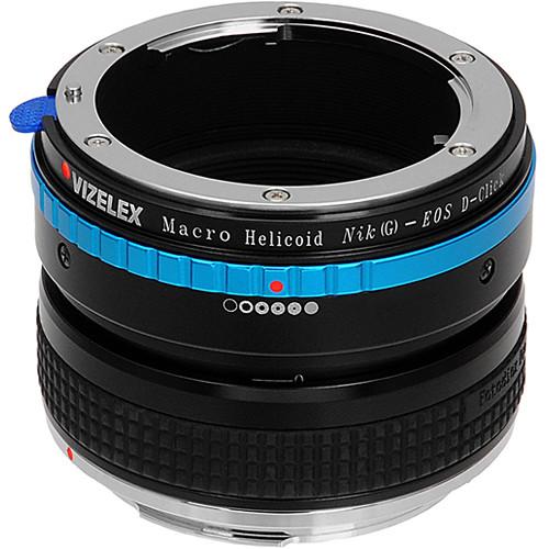 FotodioX Macro Focusing Helicoid (Nikon G & DX Lenses to Canon EOS DSLR Body)