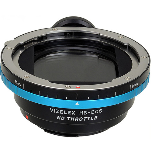 FotodioX Vizelex Pro ND Throttle Lens Mount Adapter for Hasselblad V-Mount Lens to Canon EF or EF-S Mount Camera