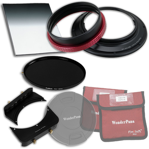 """FotodioX WonderPana FreeArc Core Unit Kit for Tamron 15-30mm Lens with 145mm Solid Neutral Density 1.2 and 6.6 x 8.5"""" Hard-Edge Graduated Neutral Density 0.6 Filters"""