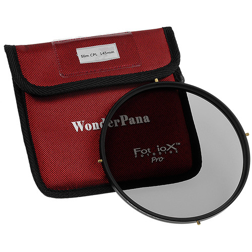 FotodioX 145mm Circular Polarizer Filter