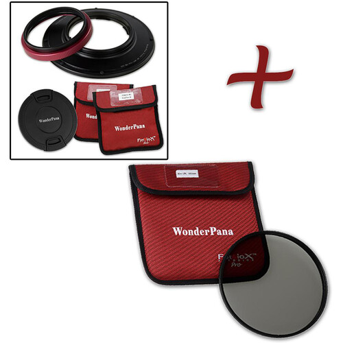 FotodioX WonderPana 145 Core Unit for Olympus 7-14mm PRO Lens with 145mm Circular Polarizer Filter