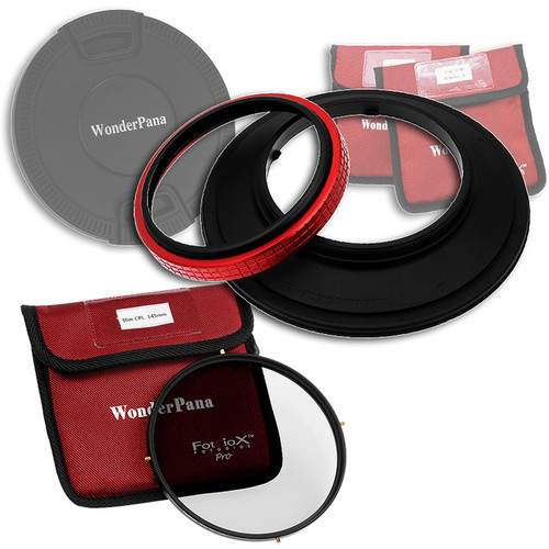 FotodioX WonderPana 145 Core Unit for Olympus 7-14mm Lens with 145mm Circular Polarizer Filter