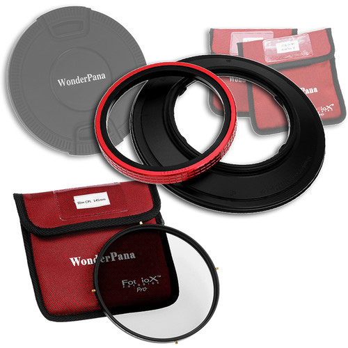 FotodioX WonderPana 145 Core Unit for Sigma 12-24mm Lens with 145mm Circular Polarizer Filter