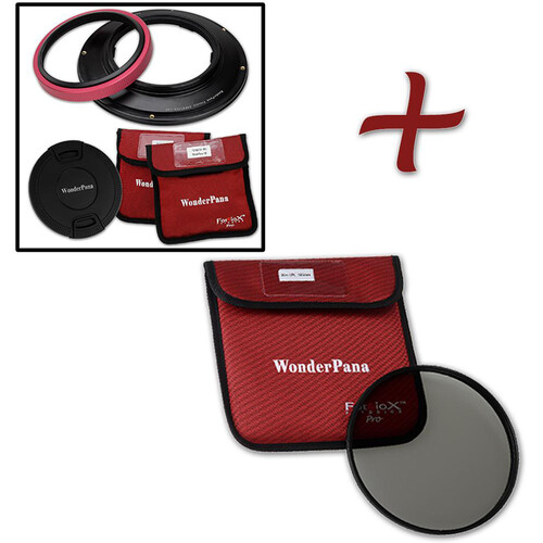 FotodioX WonderPana 145 Core Unit for Sony 12-24mm Lens with 145mm Circular Polarizer Filter