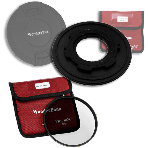 FotodioX WonderPana 145 Core Unit Kit for Tokina 10-17mm Lens with 145mm Circular Polarizer Filter