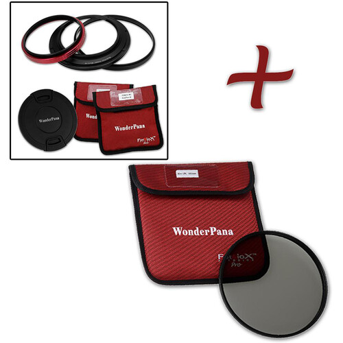 FotodioX WonderPana 145 Core Unit for Zeiss 15mm Lens with 145mm Circular Polarizer Filter