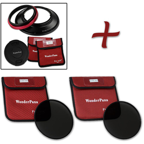 FotodioX WonderPana 145 Core Unit for Rokinon/Samyang 14mm Lens with 145mm Solid Neutral Density 1.2 and 1.5 Filters