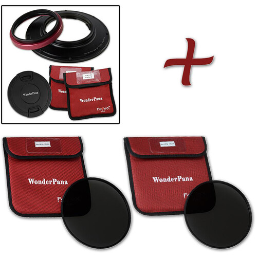 FotodioX WonderPana 145 Core Unit for Olympus 7-14mm PRO Lens with 145mm Solid Neutral Density 1.2 and 1.5 Filters