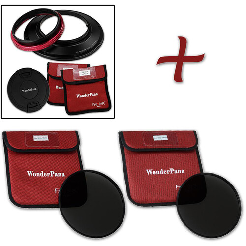 FotodioX WonderPana 145 Core Unit for Sigma 12-24mm Lens with 145mm Solid Neutral Density 1.2 and 1.5 Filters