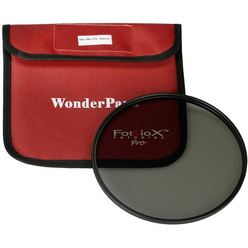 FotodioX 186mm Slim, Multi-Coated Circular Polarizer Filter