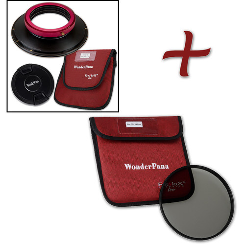 FotodioX WonderPana FreeArc XL Core Unit Kit for Sigma 14-24mm Art Lens with 186mm Slim Circular Polarizer Filter