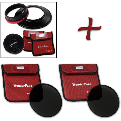 FotodioX WonderPana FreeArc XL Core Unit for Canon 11-24mm Lens with 186mm Slim, Solid Neutral Density 1.2 and 1.5 Filters