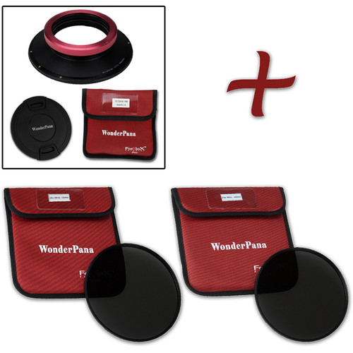 FotodioX WonderPana FreeArc XL Core Unit for Sigma 12-24mm Art Lens with 186mm Slim, Solid Neutral Density 1.2 and 1.5 Filters