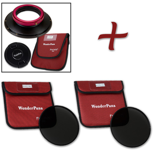 FotodioX WonderPana FreeArc XL Core Unit Kit for Sigma 14-24mm Art Lens with 186mm Slim, Solid Neutral Density 1.2 and 1.5 Filters