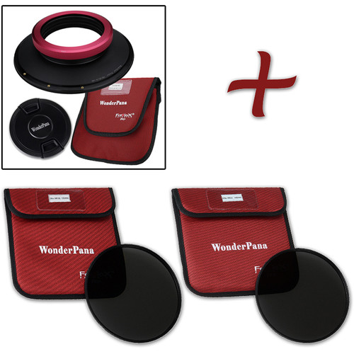 FotodioX WonderPana FreeArc XL Core Unit Kit for Sigma 14mm Art Lens with 186mm Slim, Solid Neutral Density 1.2 and 1.5 Filters