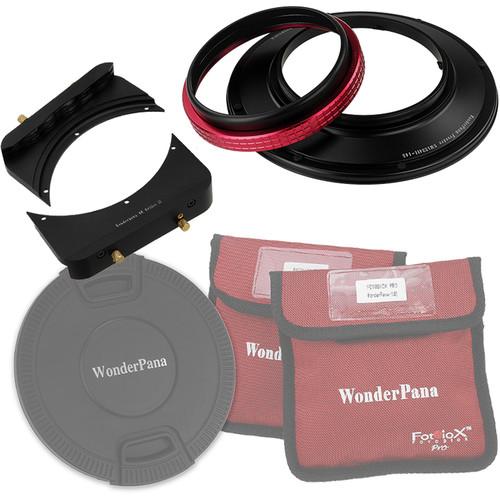 "FotodioX Wonderpana 66 System Kit with 6.6"" Wide Rectangular Filter Holder Bracket for Sigma 12-24mm f/4.5-5.6 EX DG ASP HSM II Aspherical Ultra Wide Angle Zoom Lens"