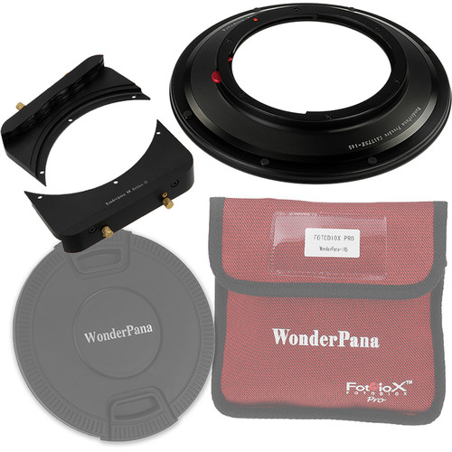 "FotodioX WonderPana FreeArc Core Unit Kit for Canon TS-E 17mm Lens with 6.6"" Holder Bracket"