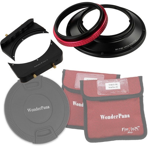 "FotodioX WonderPana FreeArc Core Unit Kit for Rokinon/Samyang 14mm Lens with 6.6"" Holder Bracket"