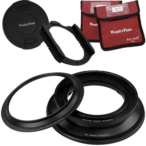 FotodioX WonderPana Absolute Core Unit Kit for Nikon 14mm Lens with Pro 130mm Filter Holder