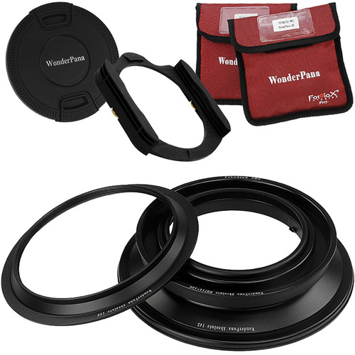 FotodioX WonderPana Absolute Core Unit Kit for Olympus 7-14mm Lens with Pro 130mm Filter Holder