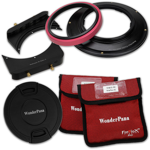 """FotodioX WonderPana FreeArc Core Filter Holder and 6.6"""" Bracket for Sony 12-24mm Lens"""