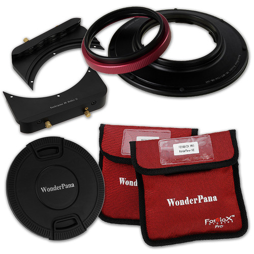 FotodioX Wonderpana 66 FreeArc Core Ultra Wide Angle Lens Rotating Filter Adapter for Olympus 7-14mm f/2.8 M.ZUIKO Digital ED PRO Micro Four Thirds Lens