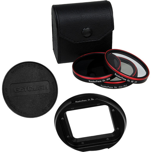 FotodioX Pro WonderPana Filter Kit for GoPro Hero3/3+ in Standard Housing (UV/CPL/ND8)