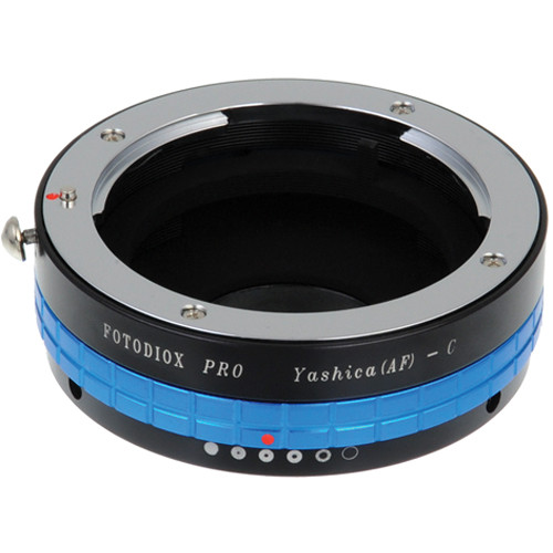 FotodioX Yashica 230 AF Pro Lens Adapter with Built-In Iris for C-Mount Cameras