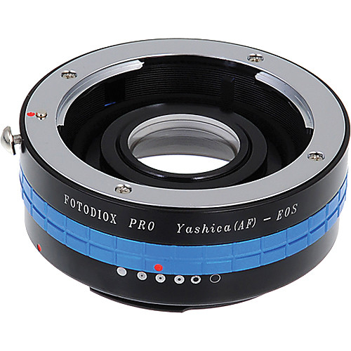 FotodioX Pro Lens Mount Adapter for Yashica AF Lens to Canon EF-Mount Camera