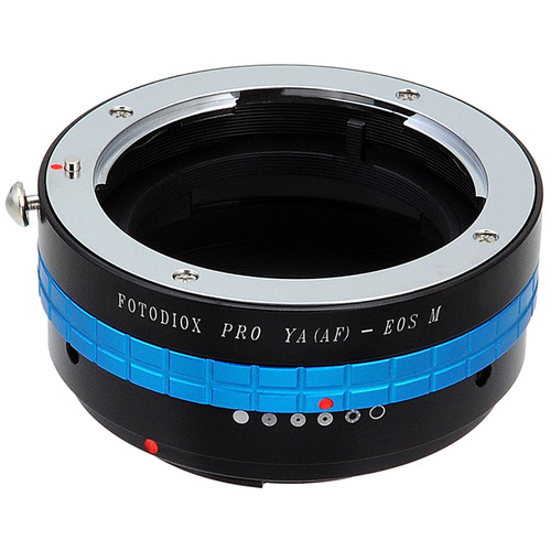 FotodioX Pro Lens Mount Adapter for Yashica AF-Mount Lens to Canon EF-MMount Camera