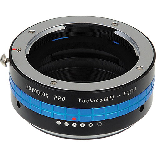 FotodioX Yashica 230 AF Pro Lens Adapter with Built-In Iris Control for Fujifilm X-Mount Cameras