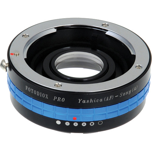 FotodioX Pro Lens Mount Adapter for Yashica AF Lens to Sony A Mount Camera