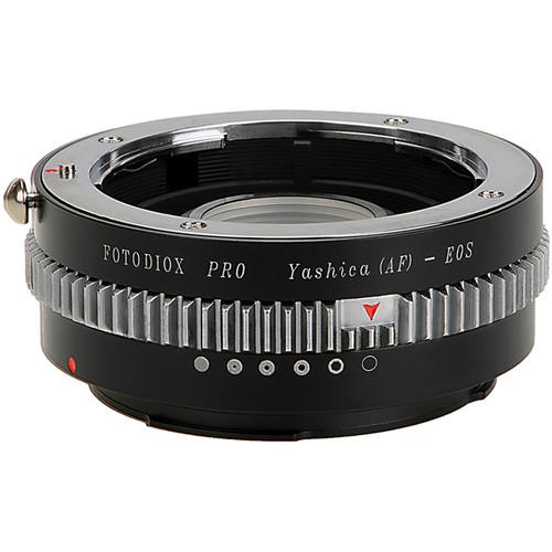 FotodioX Pro Lens Mount Adapter with Generation v10 Focus Confirmation Chip for Yashica AF-Mount Lens to Canon EF or EF-S Mount Camera