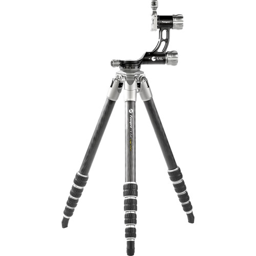 Fotopro E6L Eagle Series Carbon Fiber Travel Tripod with Gimbal Head